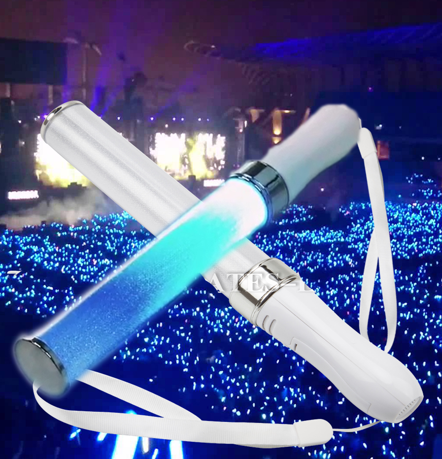 DLWY 2019 New style led light stick hot selling multicolor Led Glow stick 15 colors Customized penlight stick